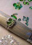green ring by Ajala