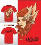 Valkyrie T-Shirt by Ajala
