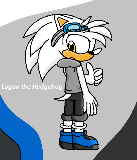 Logan the Hedgehog by JerrythePlayer360