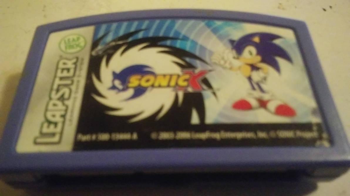 A Sonic X LeapFrog Cartridge!