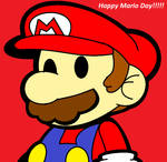 Happy Mario Day Art [My 1st Paper Mario Art]