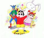 Shin Chan + Pals