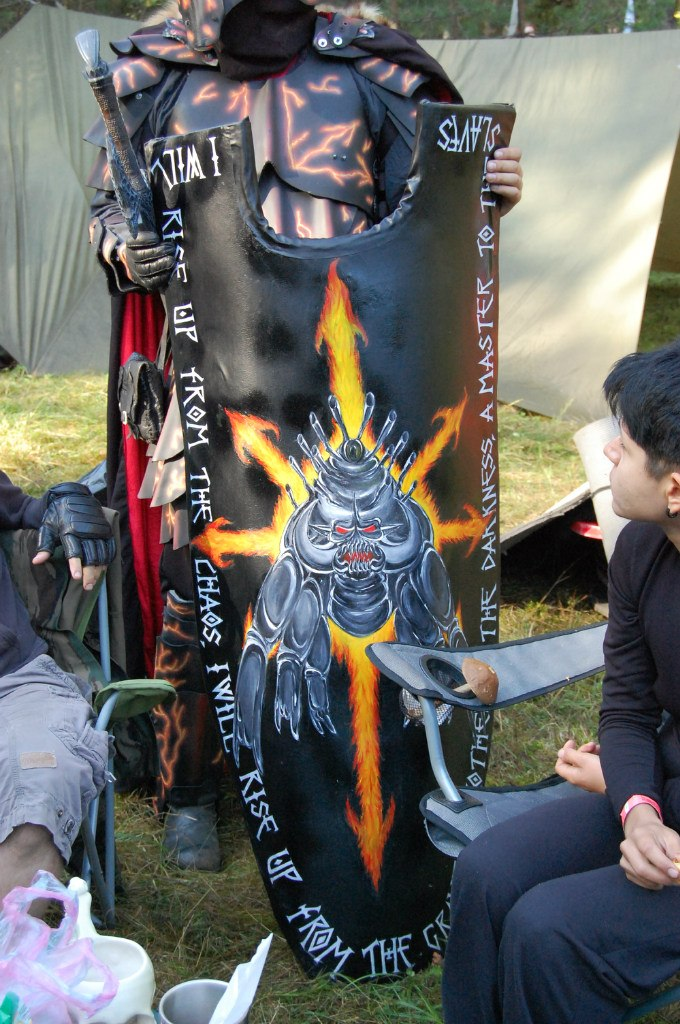 Shield for Champion of Chaos on Lustria 2014 by ArchGet