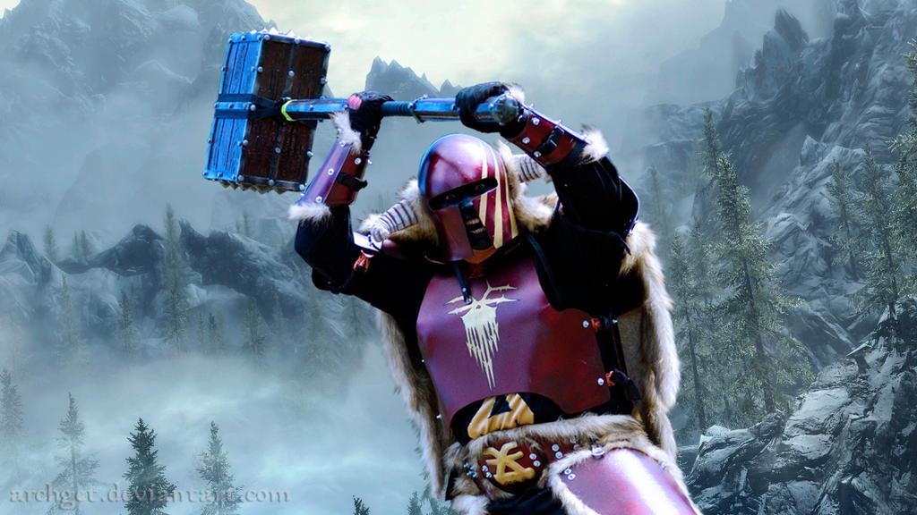 Algor - Khorne Warrior by ArchGet