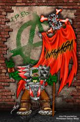 Flag WAAAGH! by ArchGet