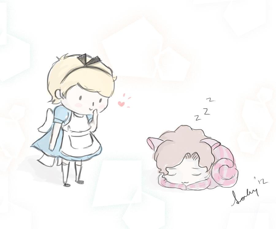 Sherlock in Wonderland by Sookybabi