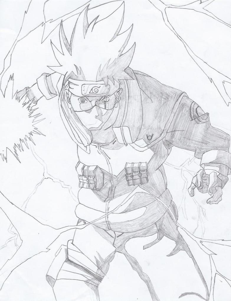 Kakashi Chidori by G-Sarge on DeviantArt