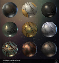 Hard surface materials studying by NamNguyen3D