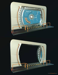 Ender's Game Airlock by NamNguyen3D