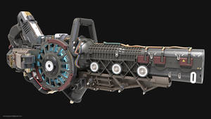 Fusion Cannon by NamNguyen3D
