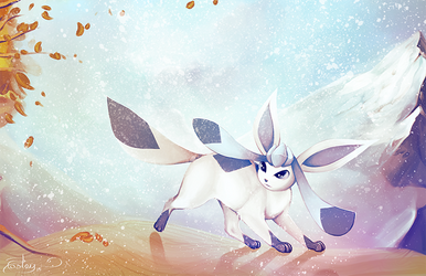 Glaceon by posteyam