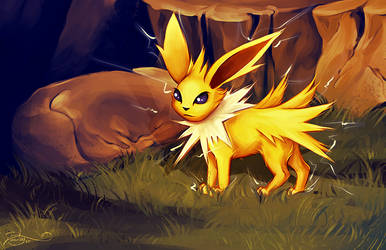 Jolteon by posteyam
