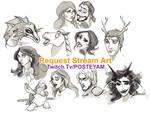 Request stream free art compilation