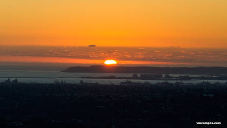 Sunset Over Point Loma 5698