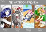 Manga Destiny Artbook Preview by Natoucha
