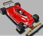 F1C - Gilles Villeneuve 1980