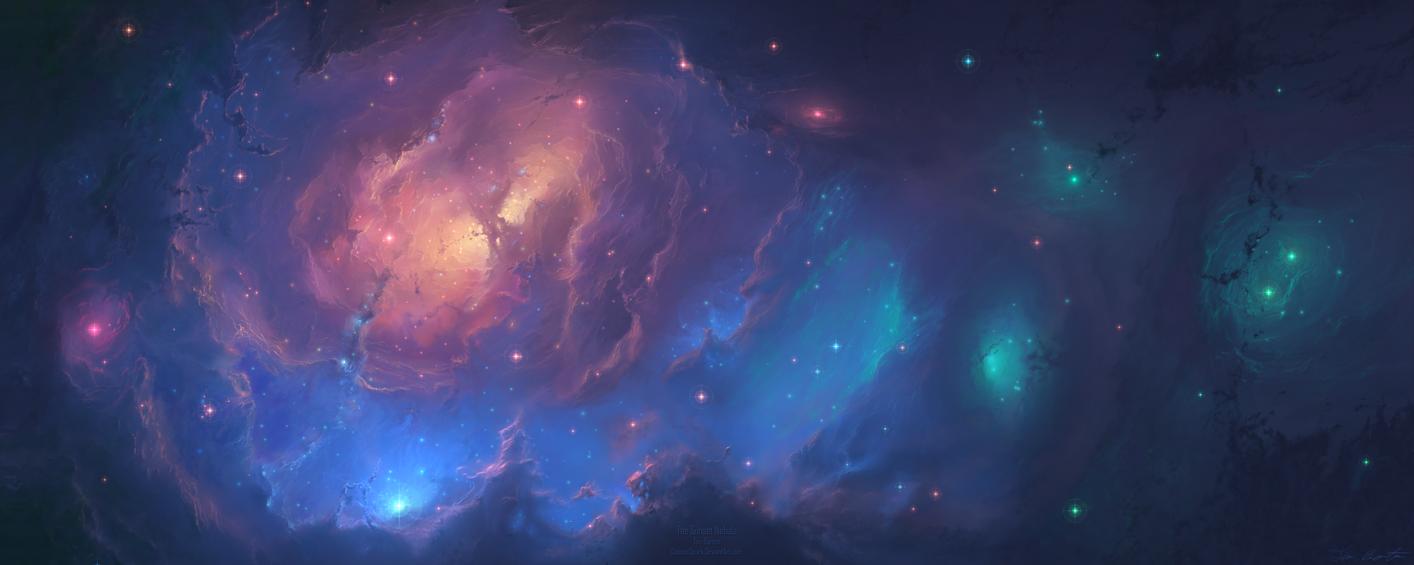 The Sunset Nebula by cosmicspark