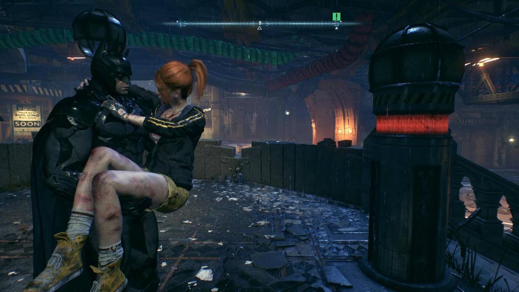 Batman arkham knight save