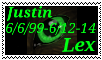 Justin Lex- Memory Stamp by Jay-V-Shadow