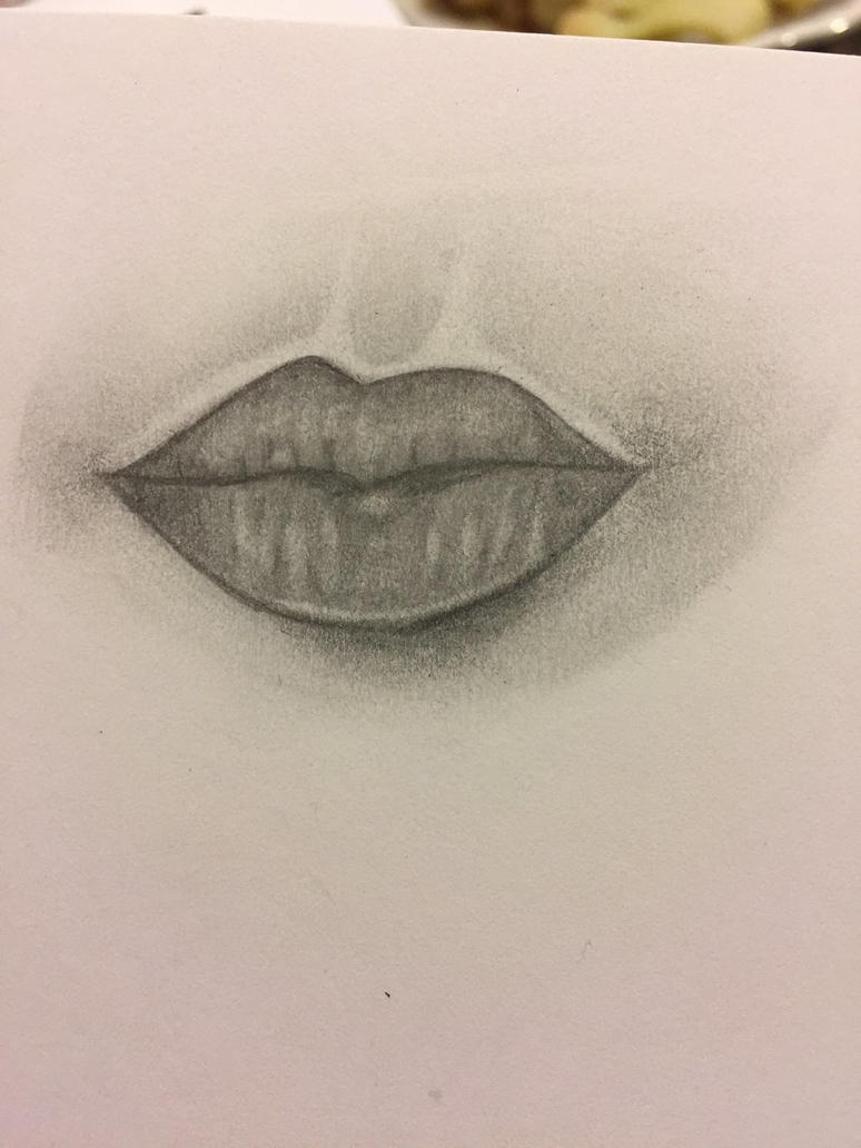 Lips by nerdermily