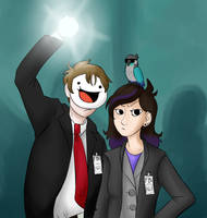 Jaiden and James from the FBI