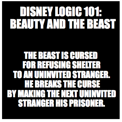Disney Logic 101: Beauty and the Beast by SirenDrake