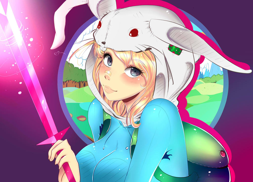 fionna the human by Invader-celes