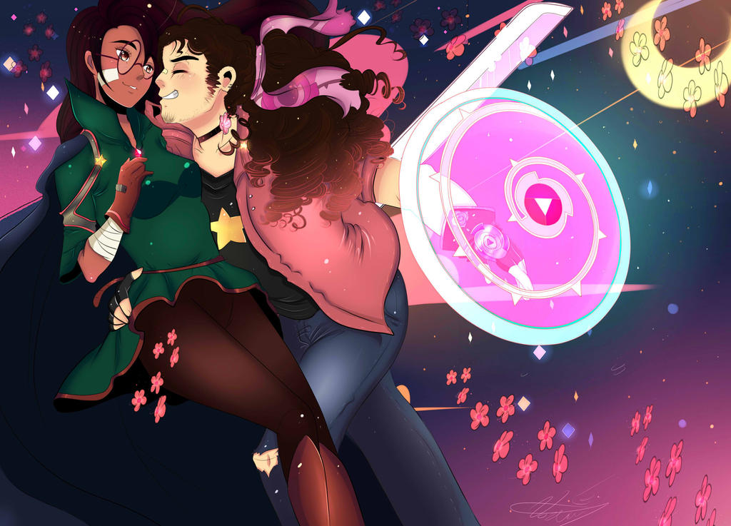 steven and connie by Invader-celes