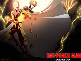 one punch man by Invader-celes