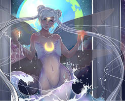 Queen Serenity by Invader-celes