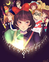 the spirit of the witch (Kiki delivery service) by Invader-celes