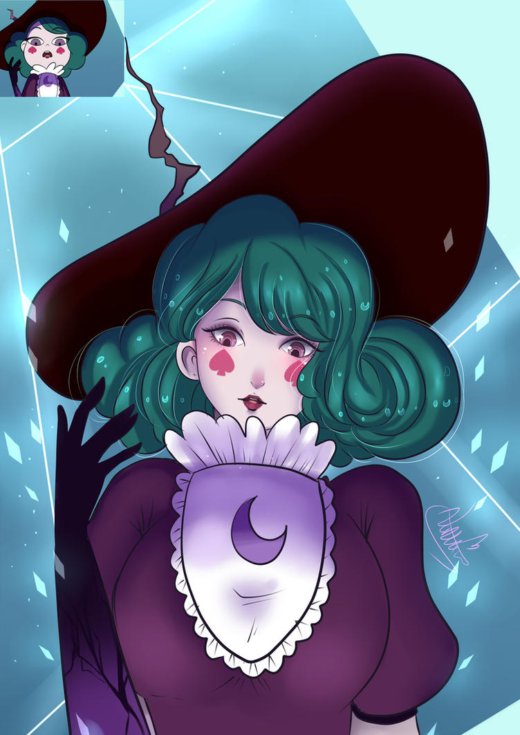 Eclipsa queen of darkness by Invader-celes