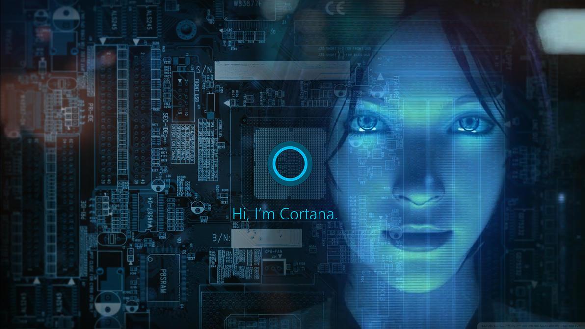 Cortana Windows 10 Wallpaper By ToxicFlint