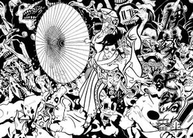 Nanao Ise (Japanese Parasol version.)