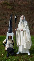 Saruman and Orthanc by Breach90