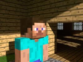 Minecraft Steve by PoPlioP