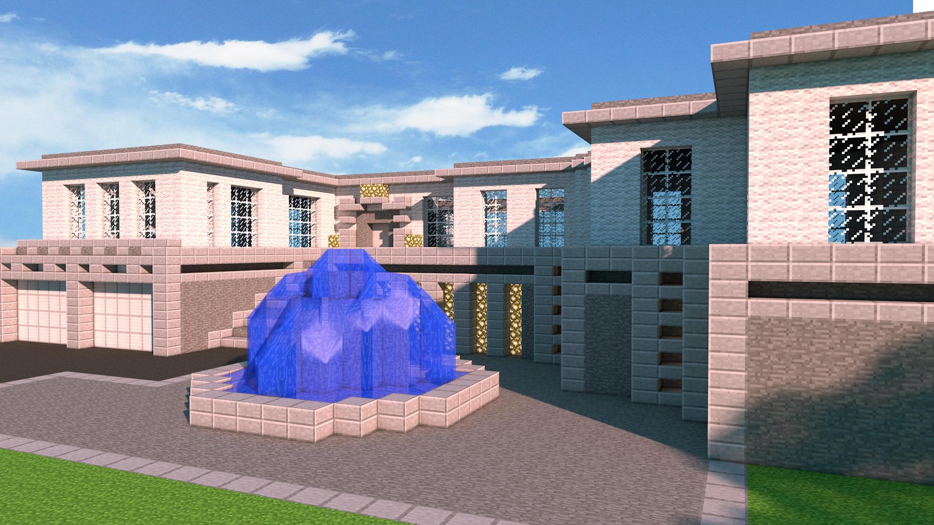 Minecraft | The modern House by PoPlioP
