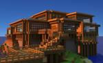 MineCraft |House Wallpaper HD | Free Download! by PoPlioP