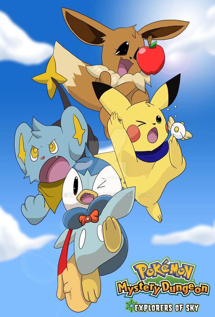 pokemon mystery dungeon explorers of time how to get pikachu