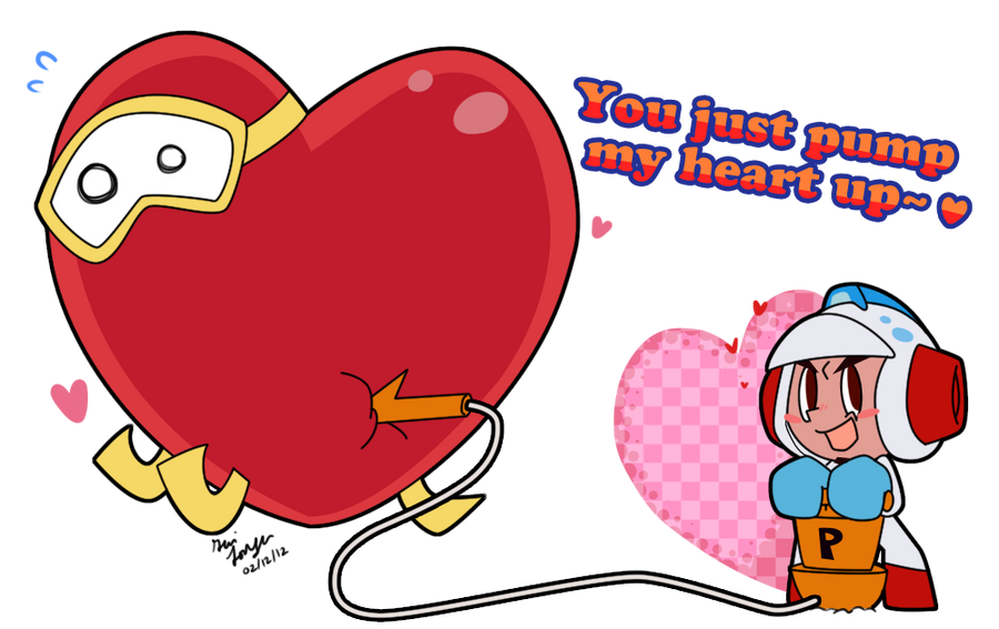 Valentine 2012 Dig Dug by WHATiFGirl