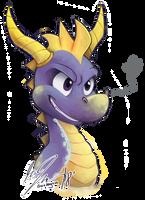 Spyro by WHATiFGirl