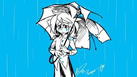 Broken Umbrella by WHATiFGirl