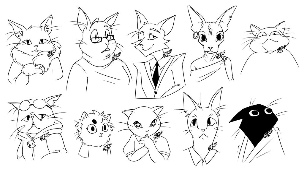 Cat Busts