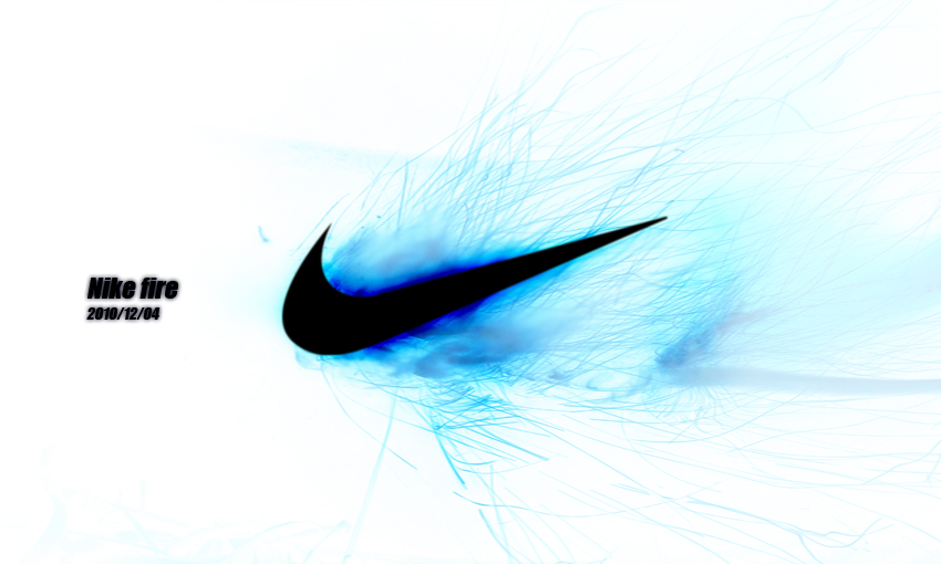 Nike Blue Fire By Highlyof On Deviantart