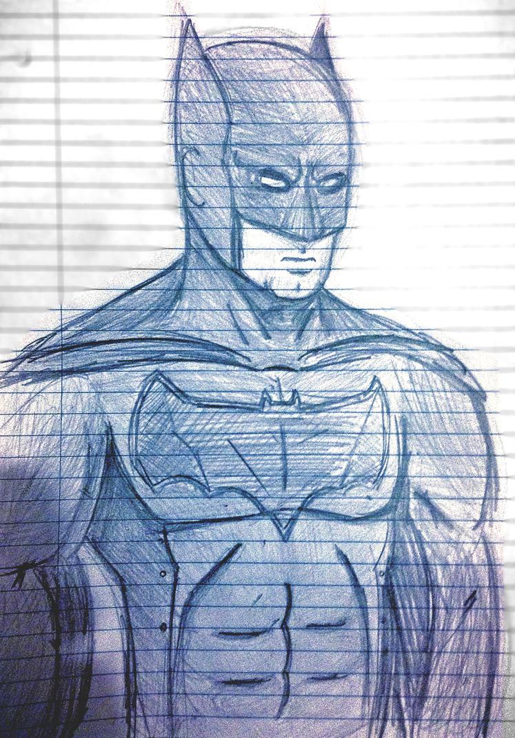 Batman Doodle Shmoodle by rkm424