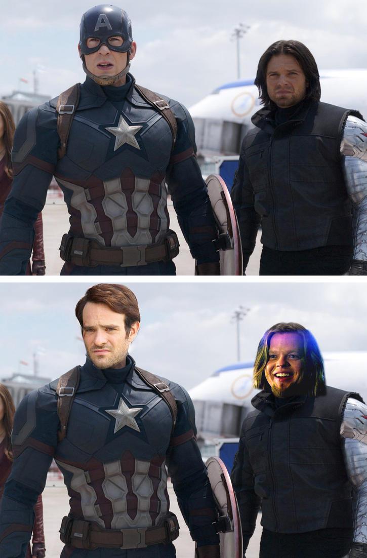 Daredevil: Civil War by rkm424