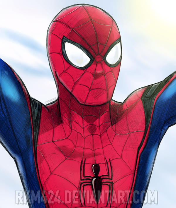 Spider-Man (Civil War/Homecoming Style) by rkm424