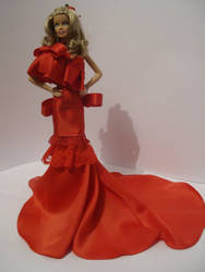 Barbie OOAK Red Carpet by ladymadge