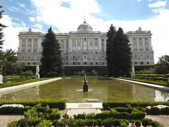 Jardines de Sabatini, (Palacio Real), Madrid by DanielBrooksLaurent