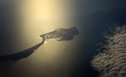 Flying over l'ile de Noirmoutier by DanielBrooksLaurent